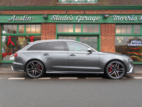 2015 Audi RS6 Avant Quattro  SOLD (picture 1 of 6)
