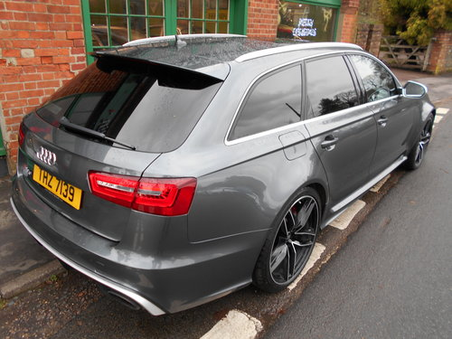 2015 Audi RS6 Avant Quattro  SOLD (picture 3 of 6)