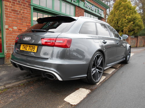2015 Audi RS6 Avant Quattro  SOLD (picture 6 of 6)