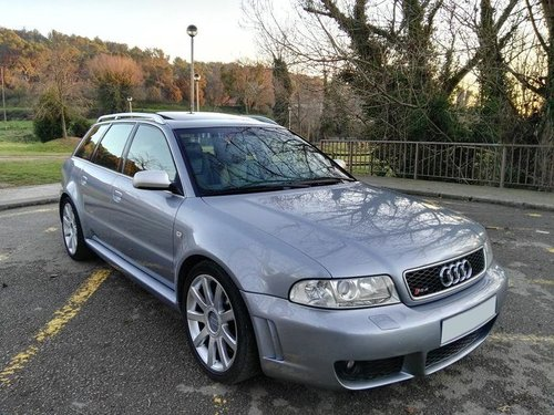 2000 AUDI RS4 B5 AVUS SILVER LHD For Sale (picture 1 of 6)