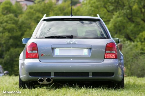 2000 AUDI RS4 B5 AVUS SILVER LHD For Sale (picture 2 of 6)