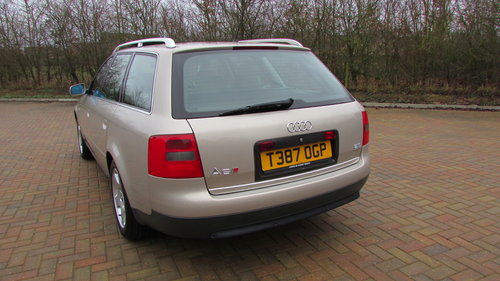 1999 Audi A6 2.8 Quattro S Sport Avant Tiptronic For Sale (picture 3 of 6)