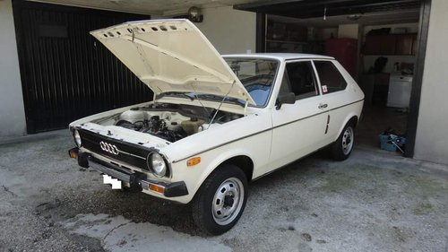 1976 Audi 50 LS,V Rare 1 of only 4 in UK Excellent condition For Sale (picture 1 of 6)