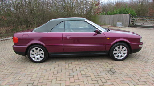 1999 Audi Cabriolet 2.6 Final Edition Exclusive model For Sale (picture 2 of 6)