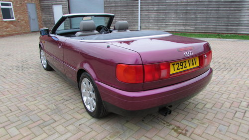 1999 Audi Cabriolet 2.6 Final Edition Exclusive model For Sale (picture 3 of 6)