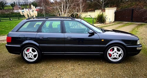 1994 AUDI RS2 AVANT RHD - 1 OF 180 PRODUCED 2 OWNERS FSH - PX ? For Sale (picture 1 of 6)