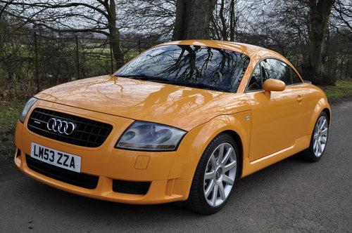 2004 Stunning Rare Colour Audi Tt 3 2 V6 Quatro Dsg Sold