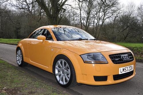 2004 Stunning - Rare colour Audi TT 3 2  V6 Quatro DSG SOLD