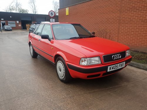 1993 Audi 80 2.0 Automatic For Sale (picture 1 of 6)