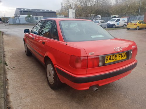 1993 Audi 80 2.0 Automatic For Sale (picture 3 of 6)