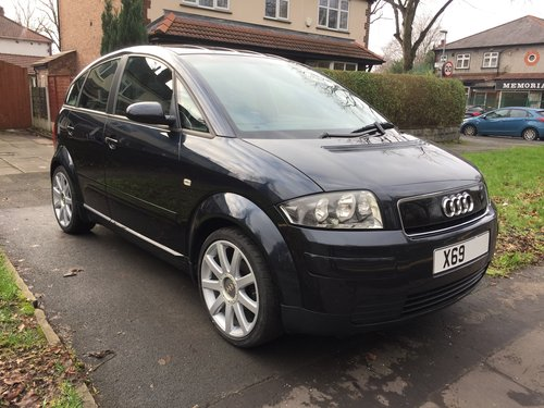 2000 Excellent Low Mileage and cared for Audi A2 1.4 For Sale (picture 1 of 6)