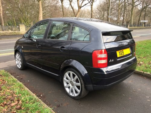 2000 Excellent Low Mileage and cared for Audi A2 1.4 For Sale (picture 4 of 6)