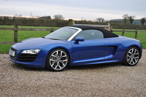 2010 R8 V10 Convertible SOLD (picture 1 of 6)
