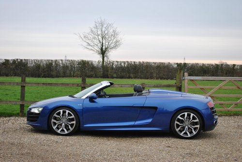 2010 R8 V10 Convertible SOLD (picture 2 of 6)