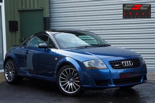 2005 Audi TT Quattro Sport, Blue, 116k, Recaro's, BOSE, FSH. SOLD (picture 1 of 6)