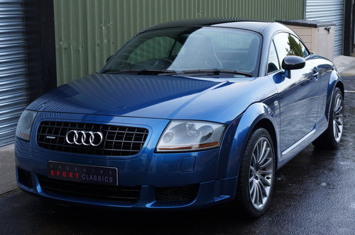 2005 Audi TT Quattro Sport, Blue, 116k, Recaro's, BOSE, FSH. SOLD (picture 3 of 6)