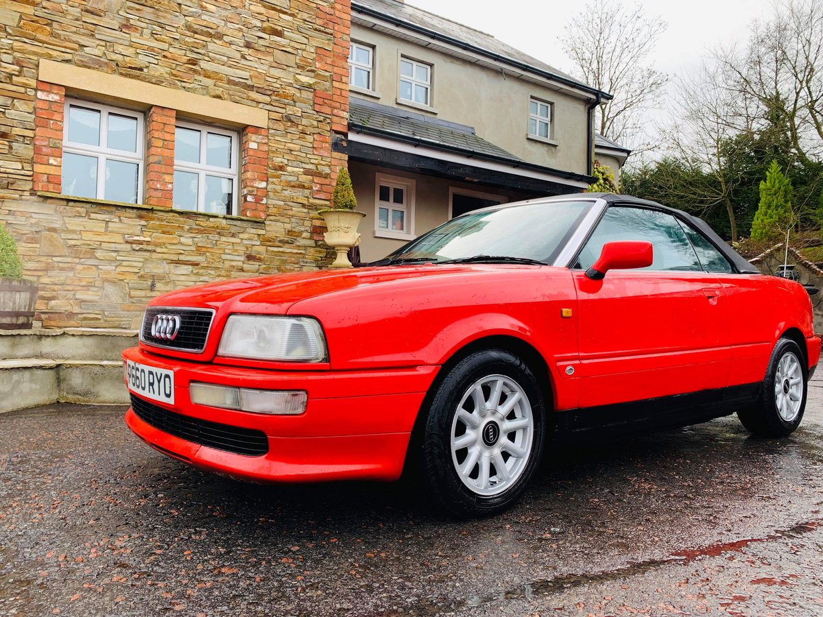 1996 Audi cabriolet 2.0 ltr For Sale (picture 1 of 3)