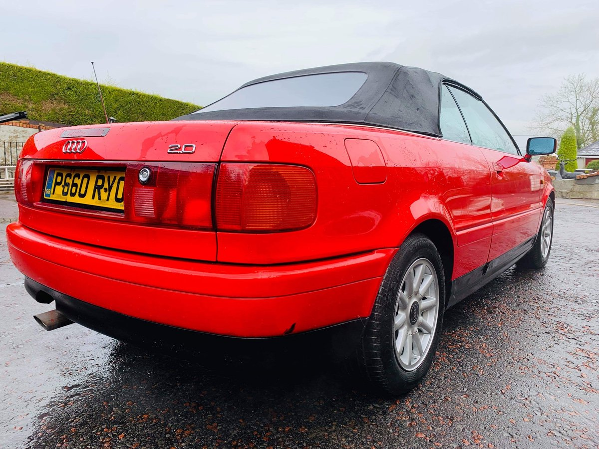 1996 Audi cabriolet 2.0 ltr For Sale (picture 3 of 3)