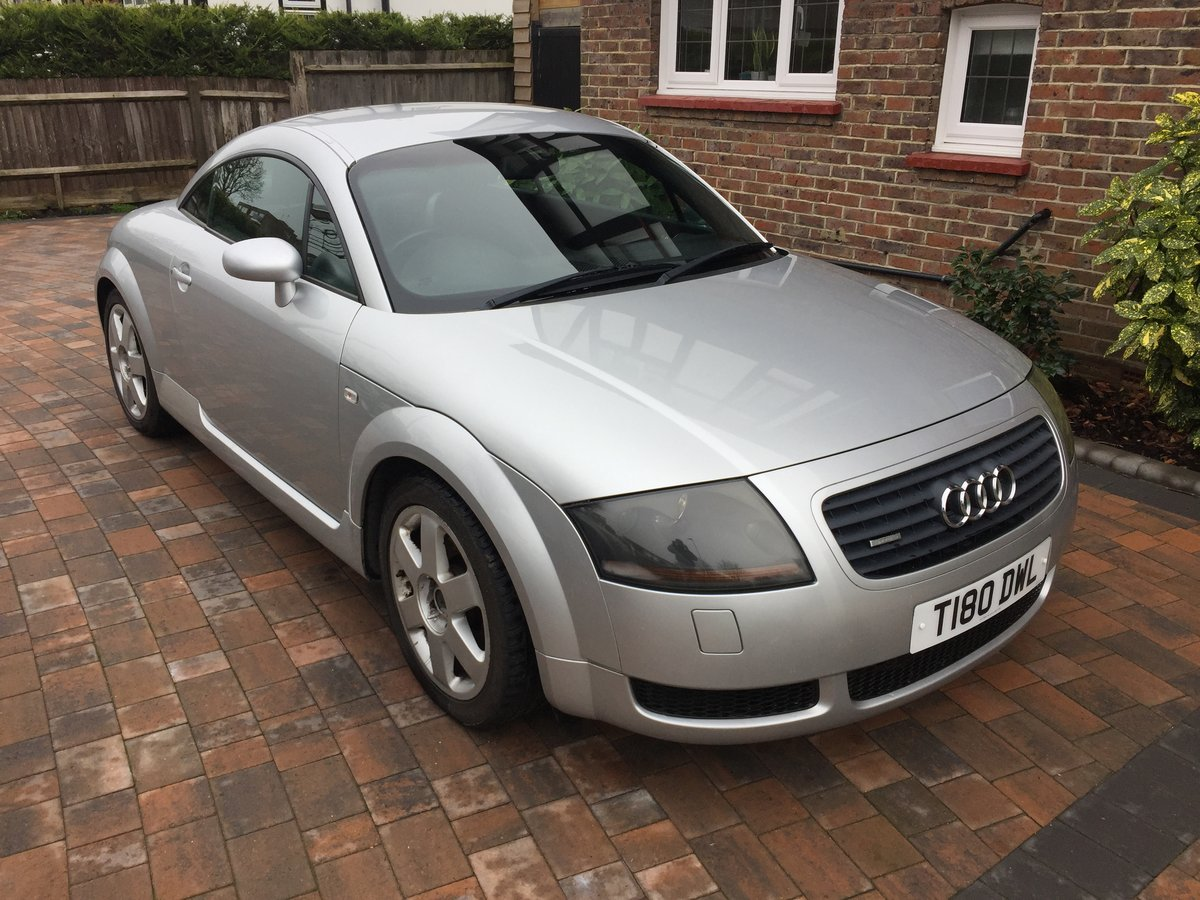 1999 Rare early Treg Audi TT 225 Launch spec SOLD (picture 1 of 6)