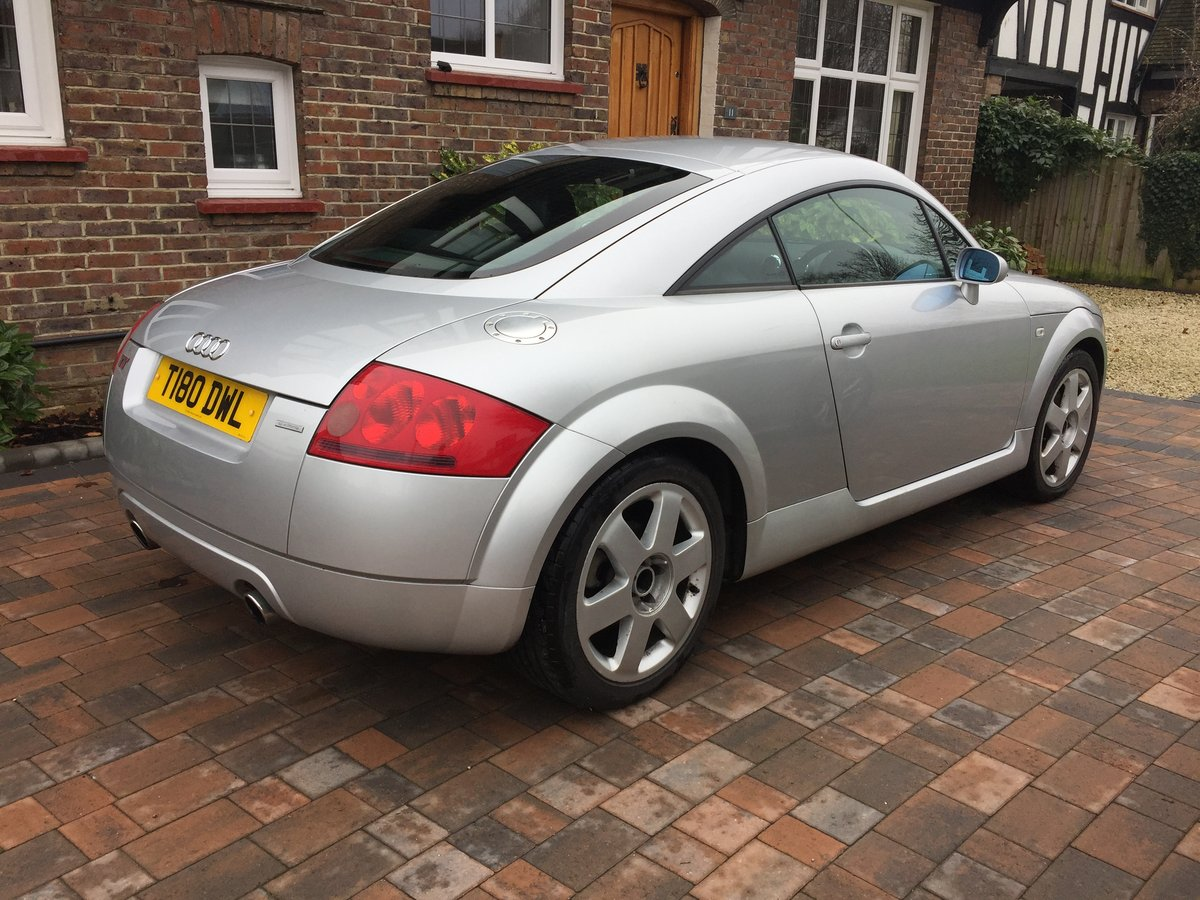1999 Rare early Treg Audi TT 225 Launch spec SOLD (picture 2 of 6)