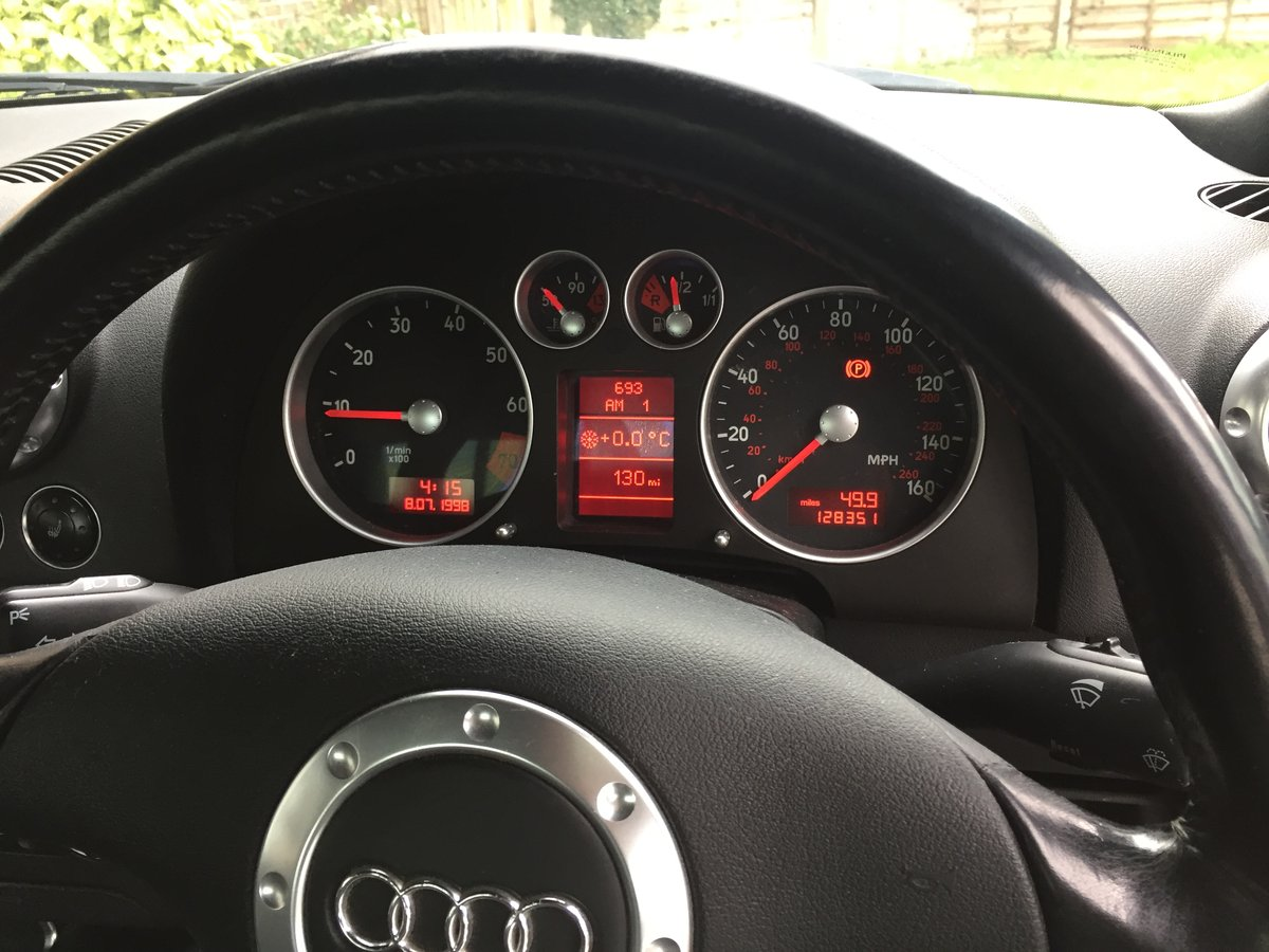 1999 Rare early Treg Audi TT 225 Launch spec For Sale (picture 4 of 6)