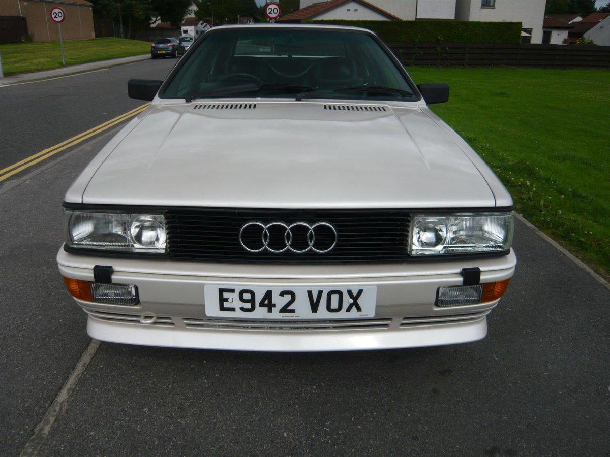 1987 Audi UR Quattro turbo pearl white 88,000 miles  SOLD (picture 1 of 6)