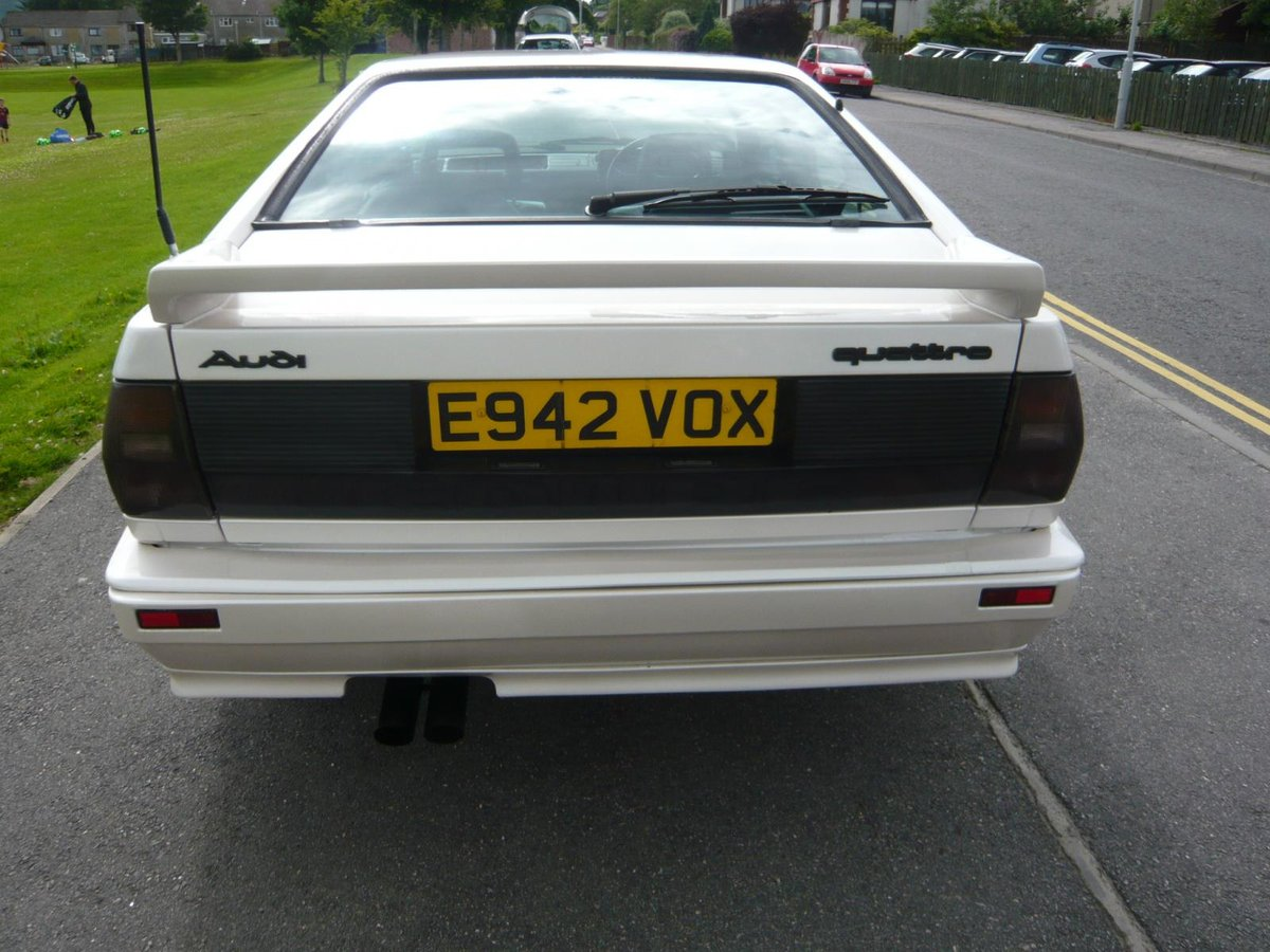 1987 Audi UR Quattro turbo pearl white 88,000 miles  SOLD (picture 2 of 6)