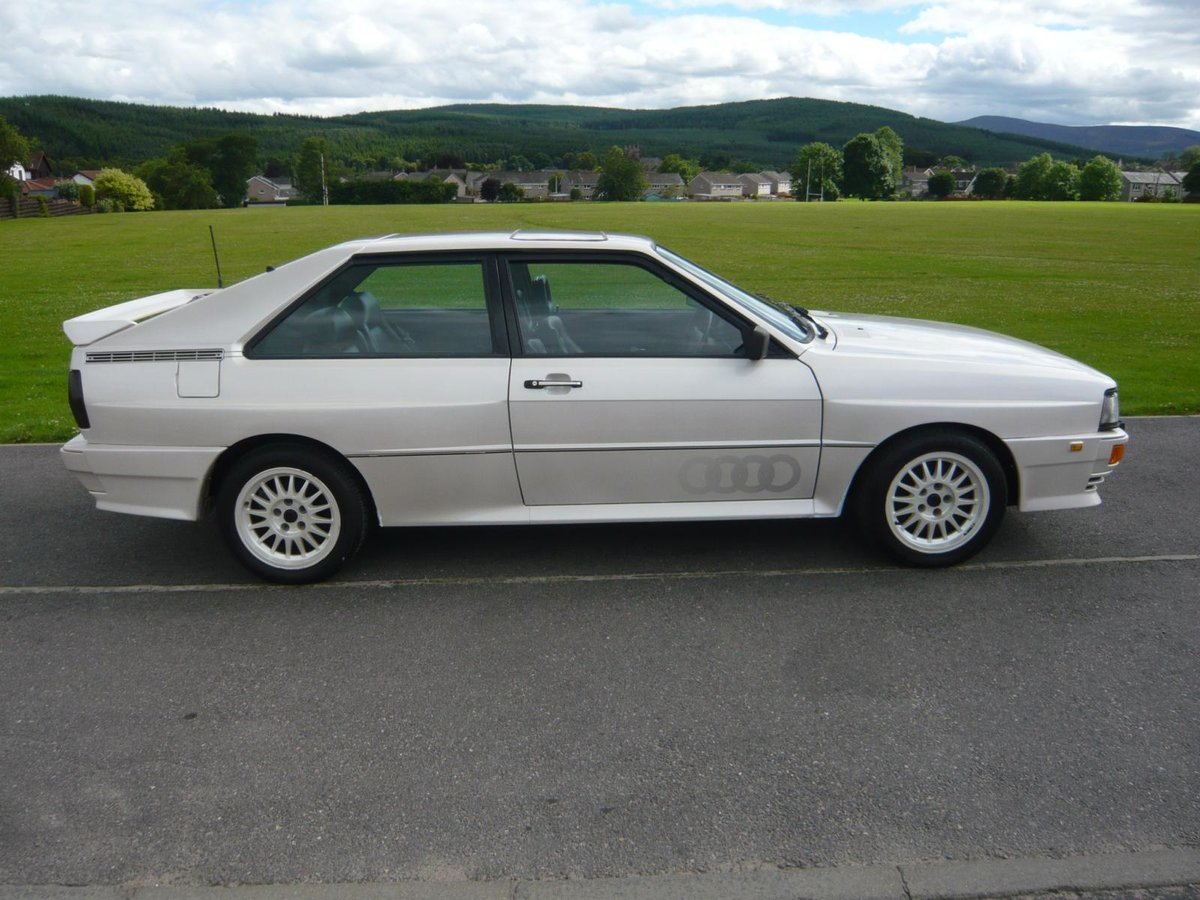 1987 Audi UR Quattro turbo pearl white 88,000 miles  SOLD (picture 4 of 6)