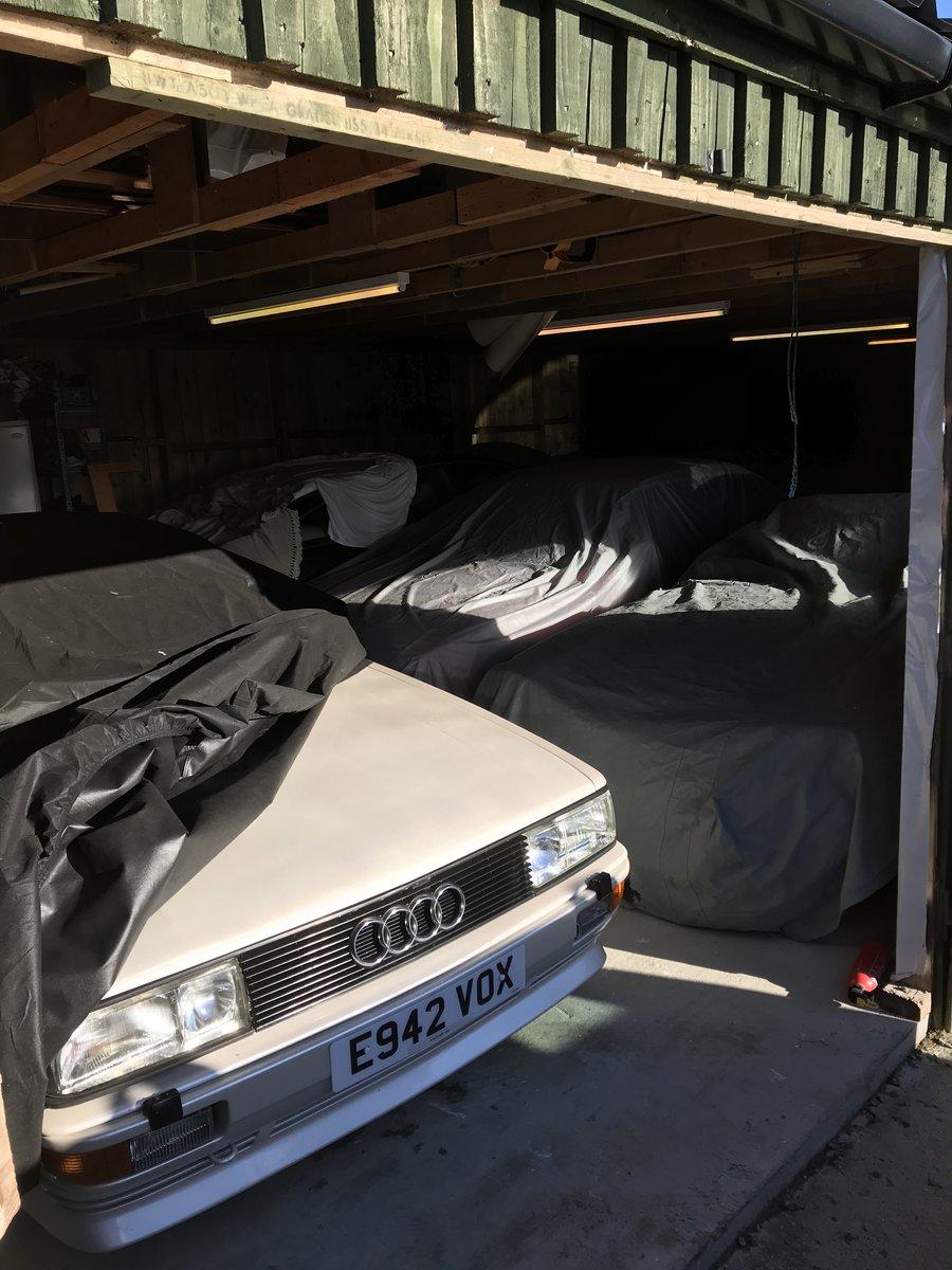 1987 Audi UR Quattro turbo pearl white 88,000 miles  SOLD (picture 5 of 6)