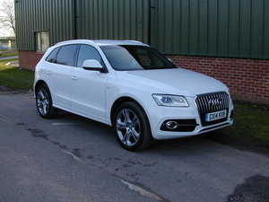 2014 AUDI Q5 2.0 TDi 177 QUATTRO S LINE PLUS - P/X PRICED TO SELL
