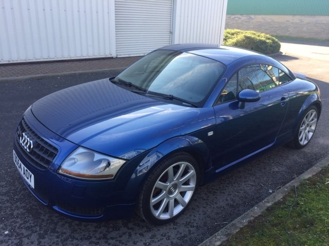 2004 Audi TT 225BHP 2 owners Full Audi History SOLD (picture 1 of 6)