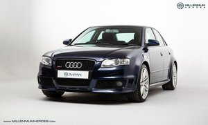 2007 AUDI B7 RS4 SALOON // EXCELLENT HISTORY // MUGELLO BLUE