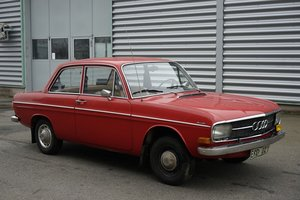 1972 Audi 60 rustfree car in first paint, project SOLD