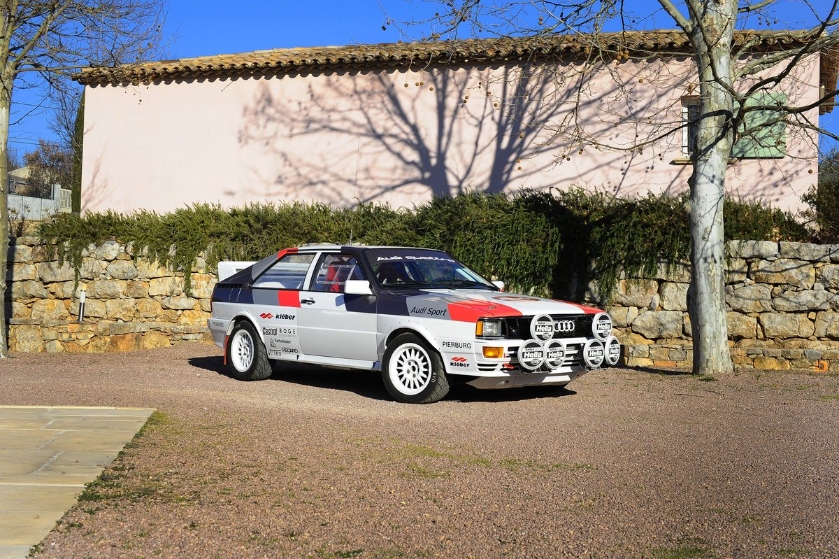1981 – AUDI QUATTRO GR. IV / FIA For Sale by Auction (picture 1 of 5)