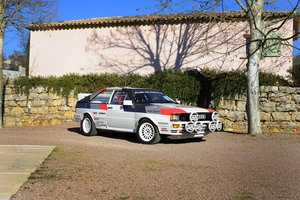 1981 – AUDI QUATTRO GR. IV / FIA For Sale by Auction