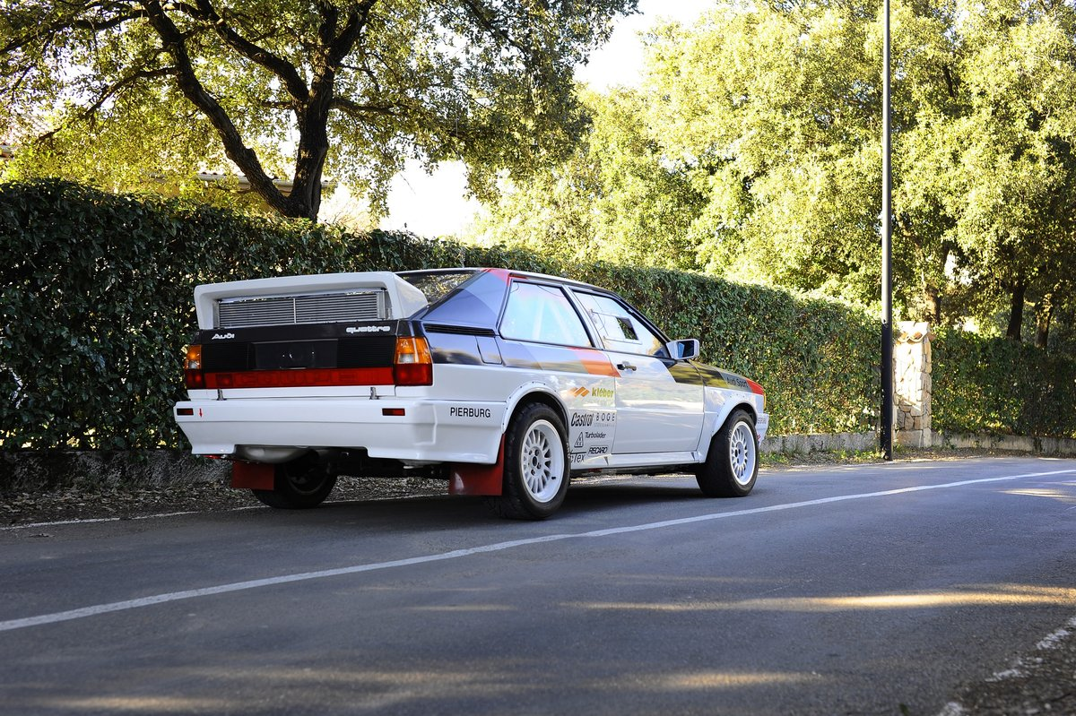 1981 – AUDI QUATTRO GR. IV / FIA For Sale by Auction (picture 2 of 5)