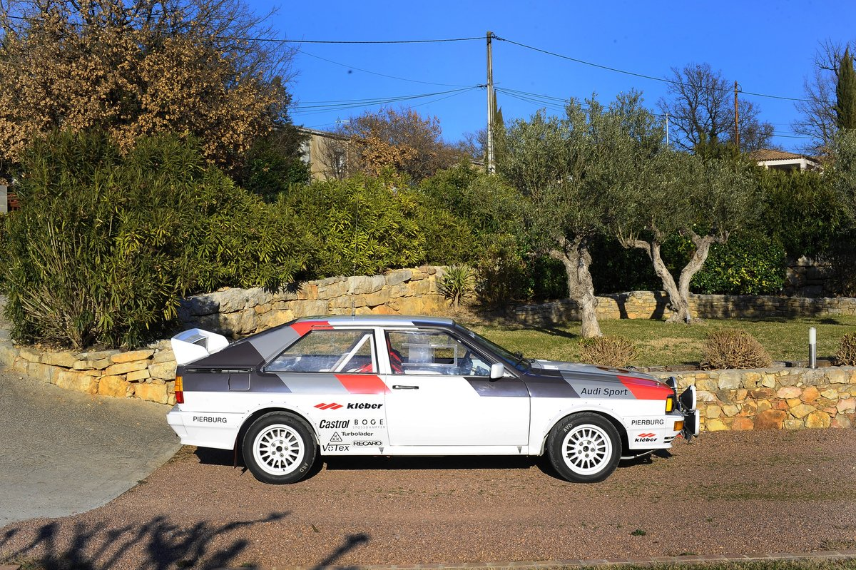 1981 – AUDI QUATTRO GR. IV / FIA For Sale by Auction (picture 3 of 5)