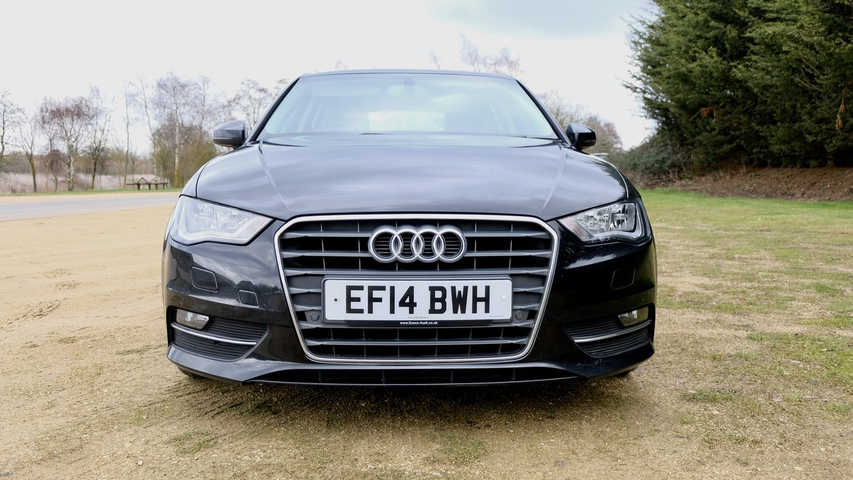 AUDI A3 1.6 TDI SPORT 2014 BLACK For Sale (picture 2 of 6)