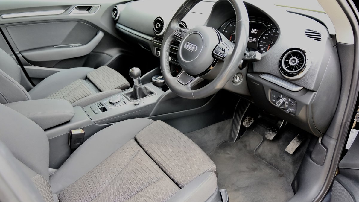AUDI A3 1.6 TDI SPORT 2014 BLACK For Sale (picture 5 of 6)