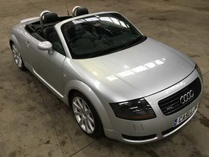 2002 Audi TT Quattro 225BHP at Morris Leslie Auction 23rd Februar SOLD by Auction