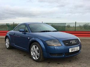 2001 Audi TT Quattro at Morris Leslie Classic Auction 25th May