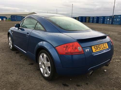 2001 Audi TT Quattro at Morris Leslie Classic Auction 25th May For Sale by Auction (picture 2 of 6)