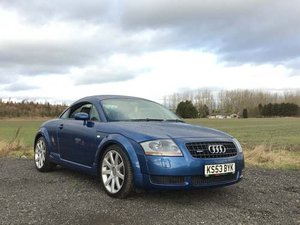 2004 Audi TT Quattro 225BHP at Morris Leslie Classic Auction SOLD by Auction