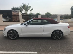 LHD Audi A5 Convertible 2013 Automatic  For Sale