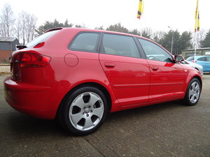 0505 AUDI A3 1.6 FSi SPORT- EVERY SERVICE AT AUDI SOLD