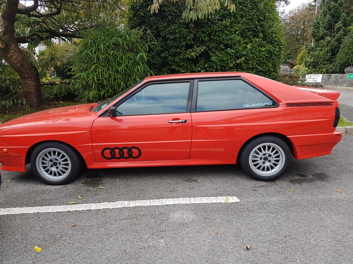 1983 Audi Quattro turbo coupe restored and beautiful  For Sale (picture 1 of 6)