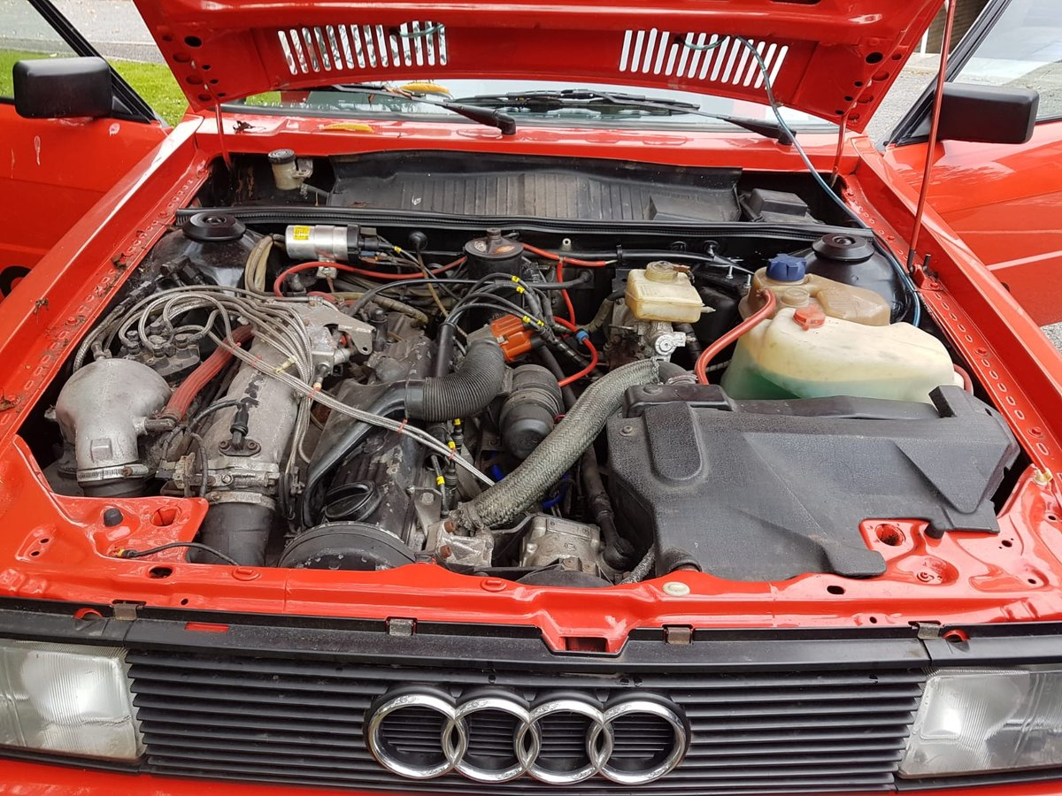 1983 Audi Quattro turbo coupe restored and beautiful  For Sale (picture 5 of 6)