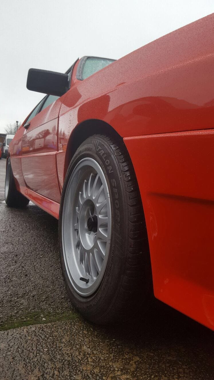 1983 Audi Quattro turbo coupe restored and beautiful  For Sale (picture 6 of 6)