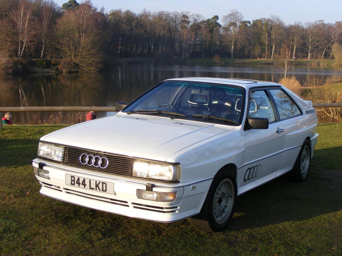 Audi UR Quattro 1985 SOLD (picture 1 of 6)