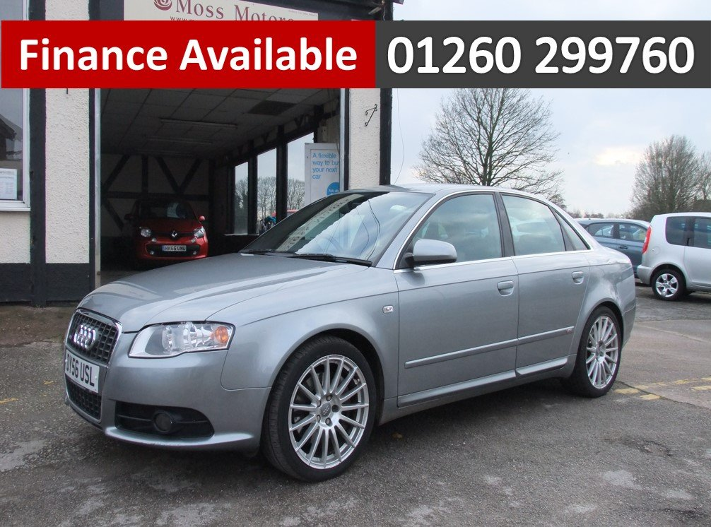 2006 AUDI A4 2.0 T S LINE SPECIAL EDITION 4DR SOLD (picture 1 of 6)